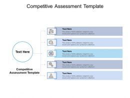 Competitive Assessment Template Ppt Powerpoint Presentation Summary Graphics Cpb