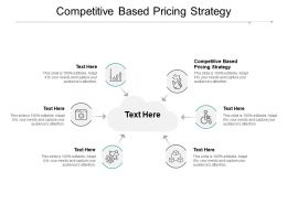 Competitive Based Pricing Strategy Ppt Powerpoint Presentation Styles Graphic Cpb