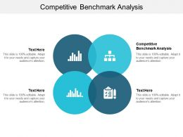 Competitive Benchmark Analysis Ppt Powerpoint Presentation Model Shapes Cpb