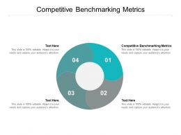 Competitive Benchmarking Metrics Ppt Powerpoint Presentation Slides Outline Cpb