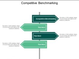 Competitive Benchmarking Ppt Powerpoint Presentation File Graphics Pictures Cpb