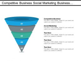 Competitive Business Social Marketing Business Networking Business Development Cpb