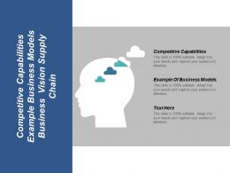 Competitive Capabilities Example Of Business Models Business Vision Supply Chain Cpb