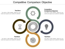 Competitive Comparison Objective Ppt Powerpoint Presentation Infographic Template Ideas Cpb
