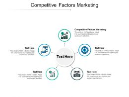 Competitive Factors Marketing Ppt Powerpoint Presentation Pictures Graphics Design Cpb