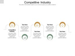 Competitive Industry Ppt Powerpoint Presentation Layouts Introduction Cpb