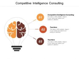 Competitive Intelligence Consulting Ppt Powerpoint Presentation Pictures Graphic Images Cpb