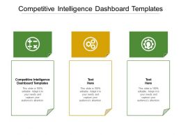 Competitive Intelligence Dashboard Templates Ppt Powerpoint Presentation Infographic Template Gridlines Cpb