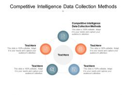 Competitive Intelligence Data Collection Methods Ppt Powerpoint Presentation Tutorials Cpb