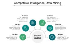 Competitive Intelligence Data Mining Ppt Powerpoint Presentation Model Cpb
