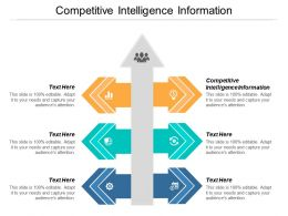 Competitive Intelligence Information Ppt Powerpoint Presentation Styles Show Cpb
