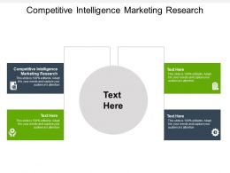 Competitive Intelligence Marketing Research Ppt Powerpoint Presentation Professional Ideas Cpb