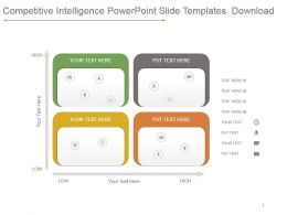 Competitive Intelligence Powerpoint Slide Templates Download
