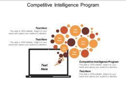 Competitive Intelligence Program Ppt Powerpoint Presentation File Example Introduction Cpb