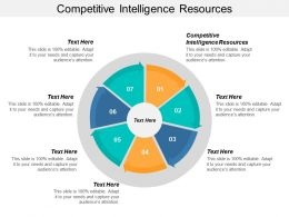 Competitive Intelligence Resources Ppt Powerpoint Presentation Pictures Background Images Cpb