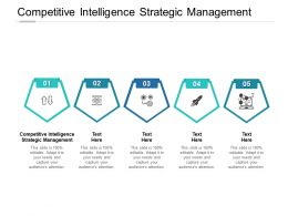 Competitive Intelligence Strategic Management Ppt Powerpoint File Sample Cpb