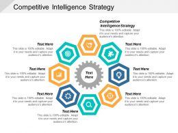 Competitive Intelligence Strategy Ppt Powerpoint Presentation Model Influencers Cpb