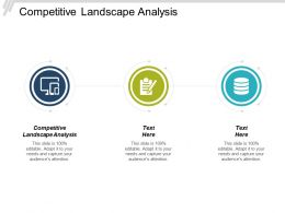 Competitive Landscape Analysis Ppt Powerpoint Presentation Infographic Template Layouts Cpb