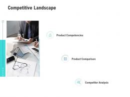 Competitive Landscape Competitor Analysis Product Management Ppt Structure