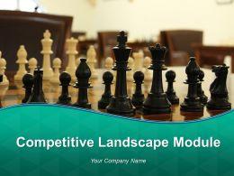 Competitive Landscape Module Powerpoint Presentation Slides