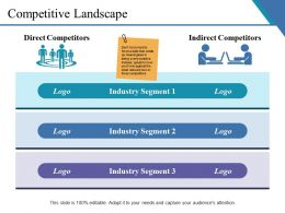 Competitive Landscape Presentation Diagrams