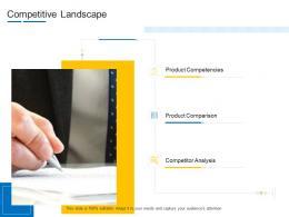 Competitive Landscape Product Channel Segmentation Ppt Microsoft