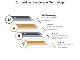 Competitive Landscape Technology Ppt Powerpoint Presentation File Graphics Design Cpb