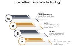 Competitive Landscape Technology Ppt Powerpoint Presentation File Graphics Design Cpb