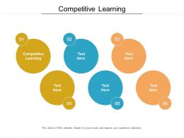 Competitive Learning Ppt Powerpoint Presentation File Infographic Template Cpb