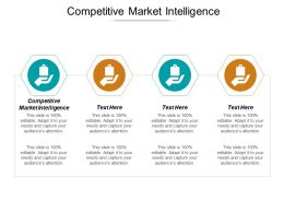 Competitive Market Intelligence Ppt Powerpoint Presentation Gallery Picture Cpb