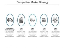 Competitive Market Strategy Ppt Powerpoint Presentation Gallery Infographics Cpb