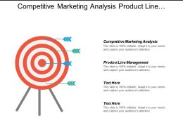 Competitive Marketing Analysis Product Line Management Stocks Analysis Cpb