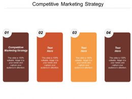 Competitive Marketing Strategy Ppt Powerpoint Presentation File Background Image Cpb
