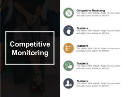 Competitive Monitoring Ppt Powerpoint Presentation File Styles Cpb