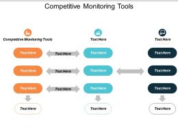 Competitive Monitoring Tools Ppt Powerpoint Presentation File Maker Cpb