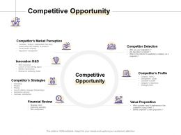 Competitive Opportunity Strategies Ppt Powerpoint Presentation Show Background Image