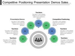Competitive Positioning Presentation Demos Sales Personal Support
