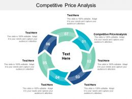 Competitive Price Analysis Ppt Powerpoint Presentation File Brochure Cpb