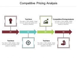 Competitive Pricing Analysis Ppt Powerpoint Presentation File Examples Cpb