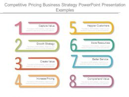 Competitive Pricing Business Strategy Powerpoint Presentation Examples