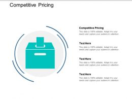 Competitive Pricing Ppt Powerpoint Presentation File Infographics Cpb