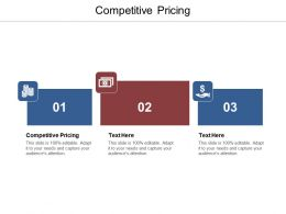 Competitive Pricing Ppt Powerpoint Presentation Infographics Designs Cpb
