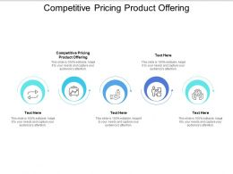 Competitive Pricing Product Offering Ppt Powerpoint Presentation Icon Design Inspiration Cpb