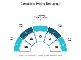 Competitive Pricing Throughout Ppt Powerpoint Presentation Summary Inspiration Cpb