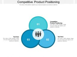 Competitive Product Positioning Ppt Powerpoint Presentation Summary Portfolio Cpb
