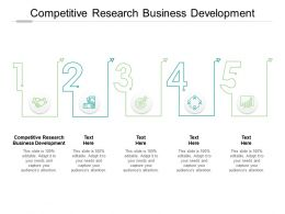 Competitive Research Business Development Ppt Powerpoint Presentation Tips Cpb