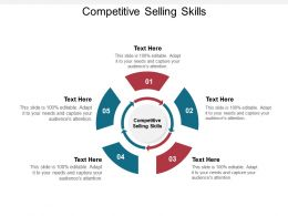 Competitive Selling Skills Ppt Powerpoint Presentation Professional Outline Cpb