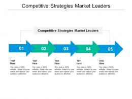 Competitive Strategies Market Leaders Ppt Powerpoint Presentation Infographics Clipart Images Cpb