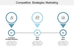 Competitive Strategies Marketing Ppt Powerpoint Presentation File Objects Cpb