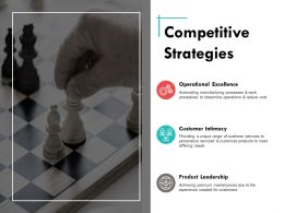 Competitive Strategies Ppt Powerpoint Presentation Summary Show
